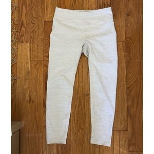 7/8 tech sweat leggings in white - outdoor voices
